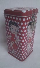 Adorable 'Betty Boop' Collectable Money Box with Padlock and Key Brand New